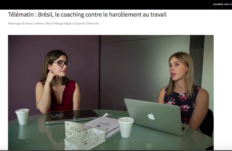 Entrevista TV 5 – assédio sexual trabalho