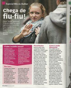 Revista Ana Maria - entrevista sobre assédio sexual