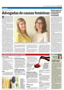 Jornal Tribuna - matéria sobre o escritório