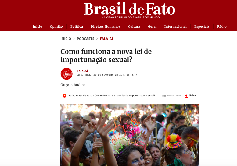 print brasil de fato carnaval
