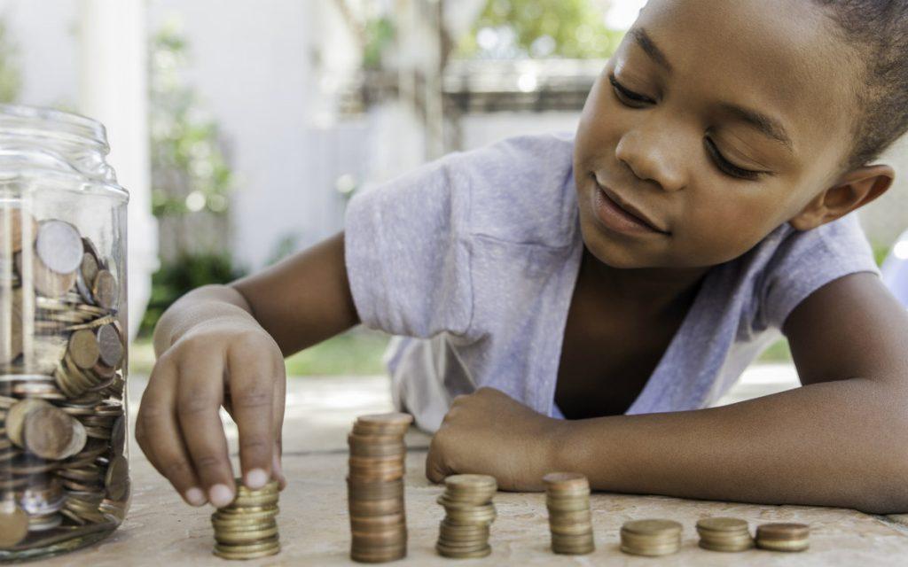 crianca dinheiro